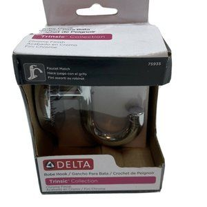 Delta Trinsic Collection Robe Hook Chrome Finish